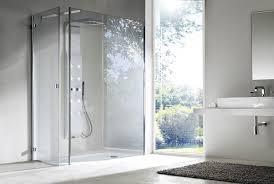 simple shower design. Simple Brilliant Sophisticated Bathroom Design Idea With Ultra Frameless Shower Cabin