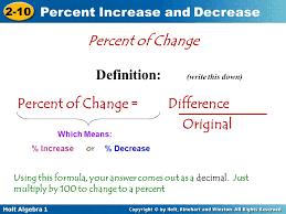 percent change worksheet holt equation definition jennarocca percent change worksheet holt
