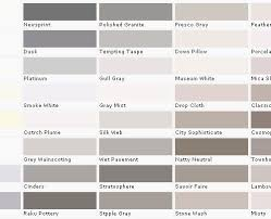 Taupe Color Chart Taupe Color Chart New Behr Paint Colors Chart Ceriunicaasl