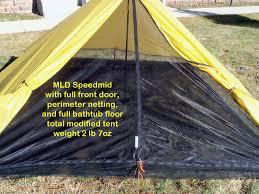 make an ultralight tent bathtub floor ideas