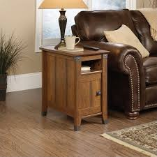 side table in washington cherry