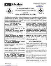 suburban sf 35 manuals suburban sf 35 installation instructions manual