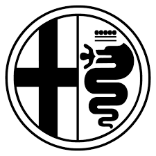 Sticker logo Alfa Romeo