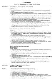 Simple Cv Examples Uk Compliance Officer Resume Sample Joefitnessstore Com
