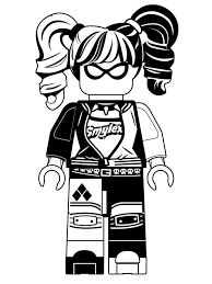 Uk Coloring Pages Kids N Fun Co Page Lego Batman Movie Harley Quinn