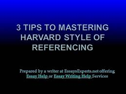 referencing using harvard authorstream essay help 3 tips to mastering harvard style of referencing