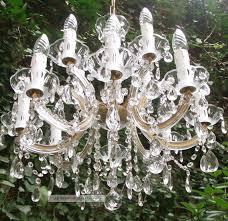Kronleuchter 12 Flammig Kristall Lüster Maria Theresia
