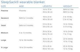 Halo Fleece Sleepsack Size Chart Halo Wearable Blanket Size Chart Blanket Ideas