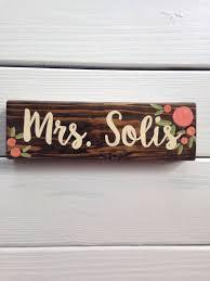 wooden teacher name plates best plate 2018 inside desk for teachers plan 6