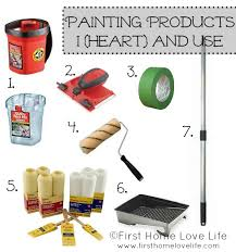 What You Need To Paint A Room painting 101: products and prep work - first