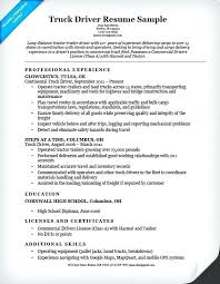 Objective For Truck Driver Resume Best of Tow Truck Driver Resume Dump Truck Driver Resume Objective For Truck