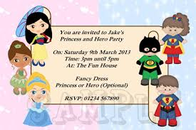 superheroes party invites ideas about princess and superhero party invitations for your