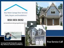 garage door company panama city fl 10 000 00 door on the water front view bwgds on vimeo