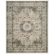 evoke gray gold 8 ft x 10 ft area rug