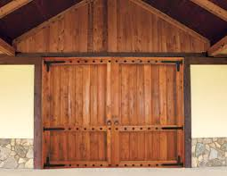 barn door garage doorsBeautiful Garage Doors  Nomadic Decorator