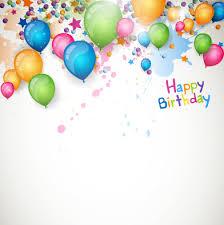 Free Birthday Backgrounds Happy Birthday Balloon Grunge Background Vector Graphics 01