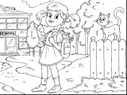 Small Picture astounding my first day at school coloring page for kids back with