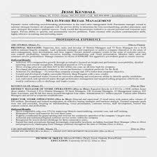 Store Manager Resume Examples Luxury Resume Examples Retail