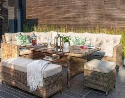 moreton rattan rectangle garden dining