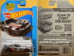 2014 #247 Custom VW Beetle (ZAMAC) #016 2014 #226 Twin Mill III (ZAMAC)  #017 2014 #91 '12 Ford Mustang Boss 302 Laguna Seca (ZAMAC) #018