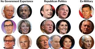 Outsiders, Insiders and Multimillionaires in Trump's Cabinet - The ...