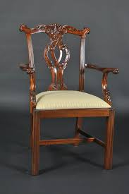Chippendale Furniture Chippendale Straight Leg Dining Room Chairs Philidelphia Style