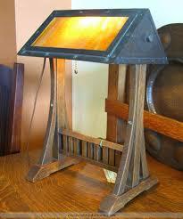 gustav stickley lamp no 506