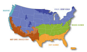 building america climate zone map  building america solution center