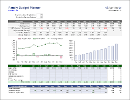 sample household budget family budget planner for excel