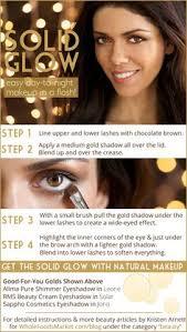 beauty expert kristen arnett shares easy day to night makeup for a sparkling season