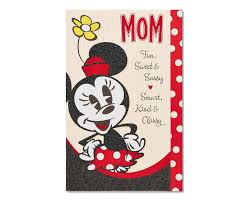 Minnie Mouse Mothers Day Card