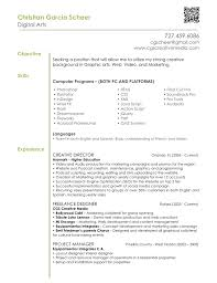 Graphic Design Resume Objective Statement Graphic Design Resume Objective Examples Examples of Resumes 1