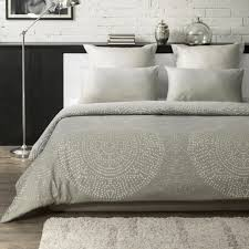a1 home collections humus wrinkle resistant reversible print 100 organic cotton beige king duvet cover set a1pduv005 king the home depot