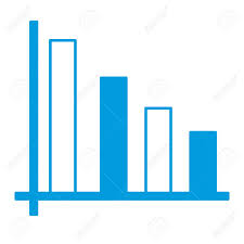 Graphic Design Stats Bars Stats Graph Icon Vector Illustration Graphic Design