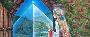 Goddesses Of The New Light Grail Graphics Pamela Matthews Visionary Art