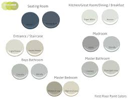modern paint colorsModern American Colonial Paint Colors  Home with Keki