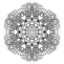 Small Picture Mandala Coloring Books For Grown Ups Coloring Pages