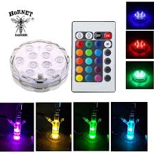What Are The Colors Of Led Lights Rgb 16 Colors Led Lights Hookah Bottom Light Holiday Party Smoking Atmosphere Color Change Lantern Remote Controllable Lamp