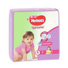 <b>Подгузники</b>-<b>трусики Huggies Little</b> Walkers Girl, 9-14 кг, 17 штук ...