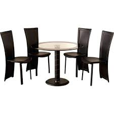 black glass round dining table awesome small black dining table and chairs small round dining table