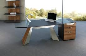 glass top office desk modern. Wood Desk With Glass Top Blue Ribbon Modern White Small Office Chairs . 1