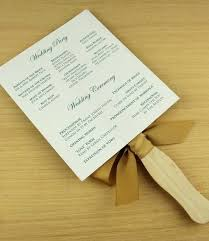 Wedding Program Fans Cheap Free Diy Wedding Program Fans Template Fan Templates Paddle Vintage