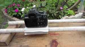diy dslr slider with motor for time lapse photography