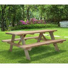 72 in deluxe picnic table 406722 the