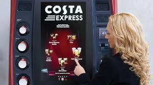 Costa Vending Machine Magnificent 48