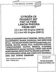 citroen c8 engine diagram citroen wiring diagrams