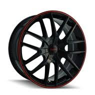 5x120 Bolt Pattern Extraordinary 48x48 Car Wheels Rims Black Chrome FREE Shipping BEST Pricing