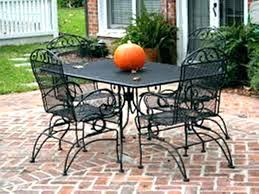 wrought iron lawn furniture cast patio table medium size of manufacturers metal round green pati wrought iron patio furniture
