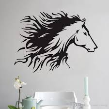 head of horse wall stickers home decoration accessories vinyl art wall decals animals painting for wall letter wall stickers love wall decals from  on horse wall art decal with head of horse wall stickers home decoration accessories vinyl art