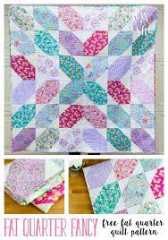 Free Fat Quarter Quilt Patterns